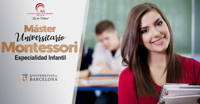 Inscripción Máster Montessori infantil 1