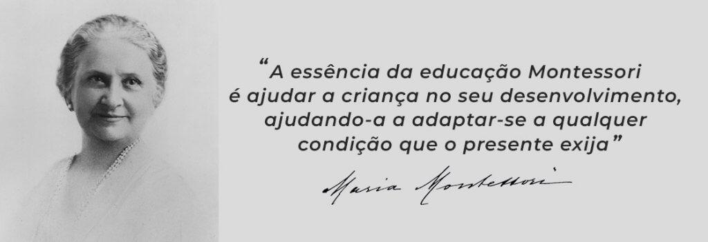 frase Maria Montessori
