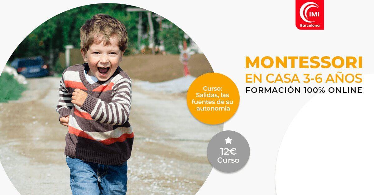 Curso Salidas autónomas Montessori en casa