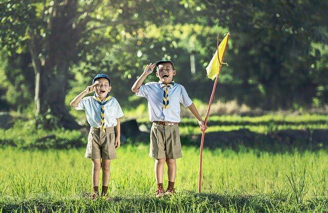 Scout niños