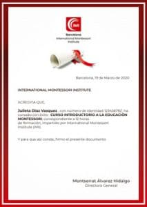 Certificado IMI