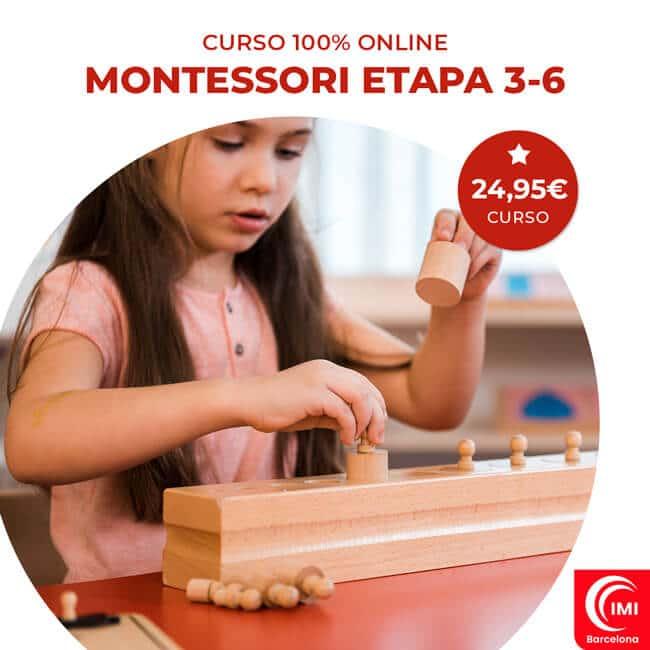 Curso Montessori online 3-6