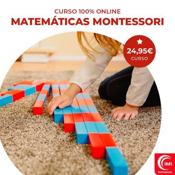 curso matemáticas montessori
