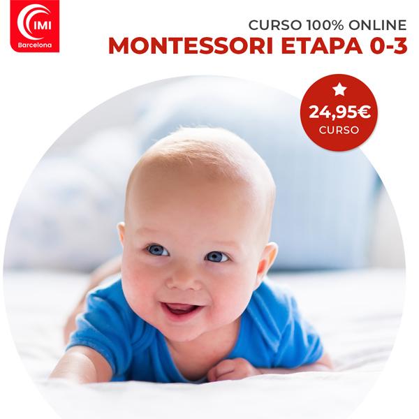 Curso Montessori etapa 0-3 años