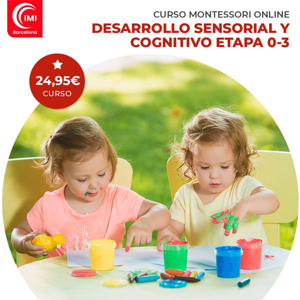 Curso montessori desarrollo sensorial