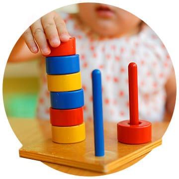 Ritmo del niño Montessori