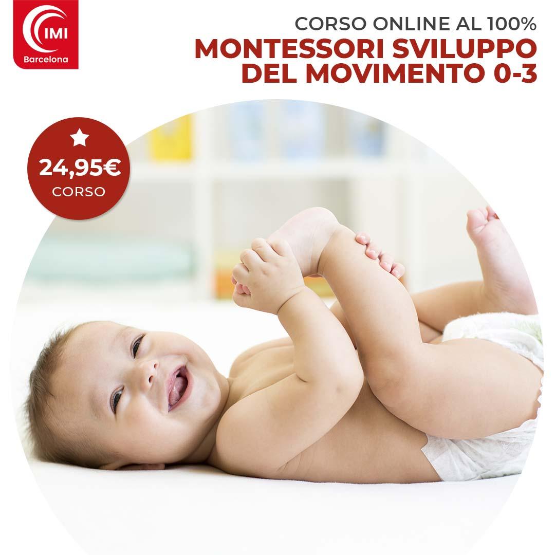 Curso Montessori desarrollo movimiento