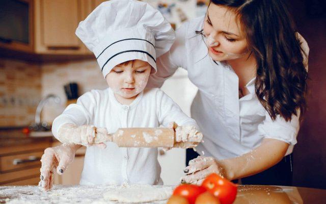 La importancia de cocinar para los niños