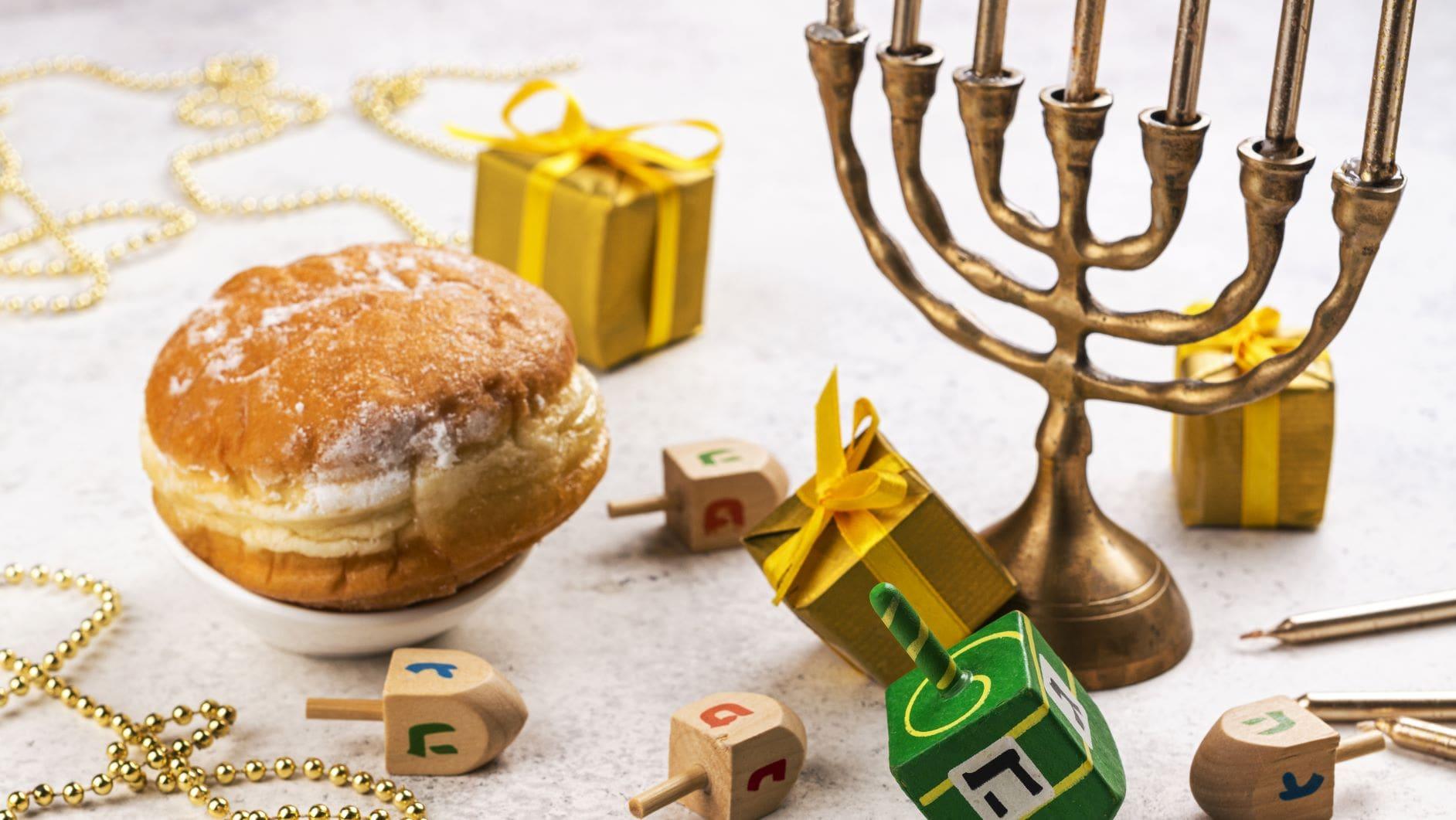 hannuka -celebración de la cultura judaica