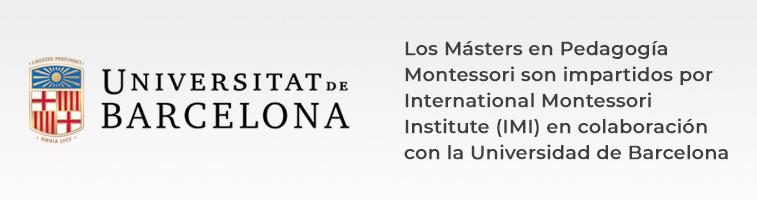Máster Montessori IMI y UB
