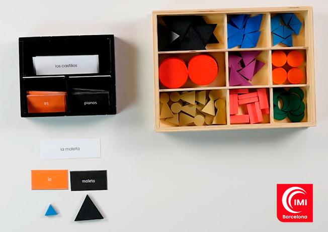 Material Lenguaje Montessori