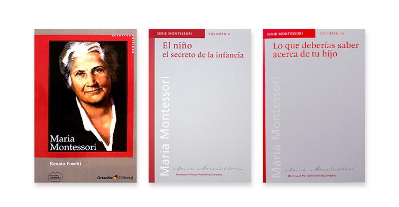 Libros de María Montessori