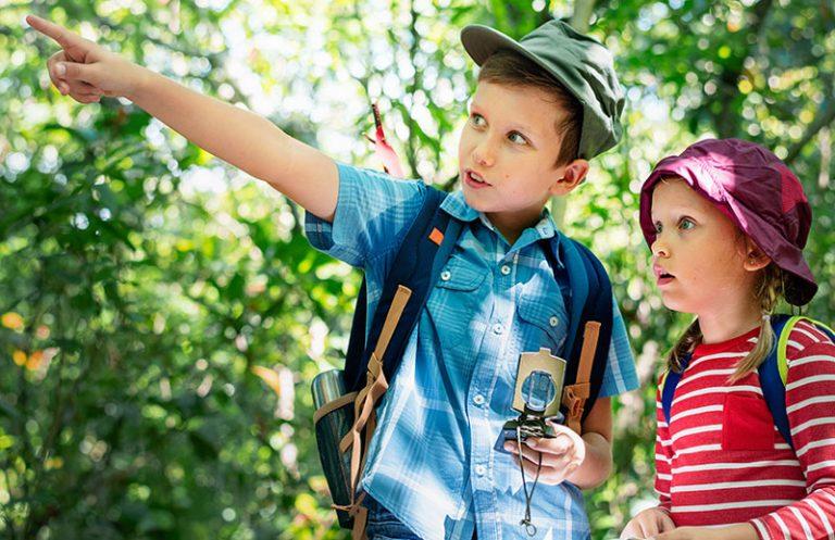 Actividades al aire libre para hacer con niños