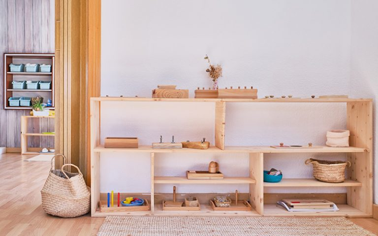 Beneficios del ambiente Montessori en el niño